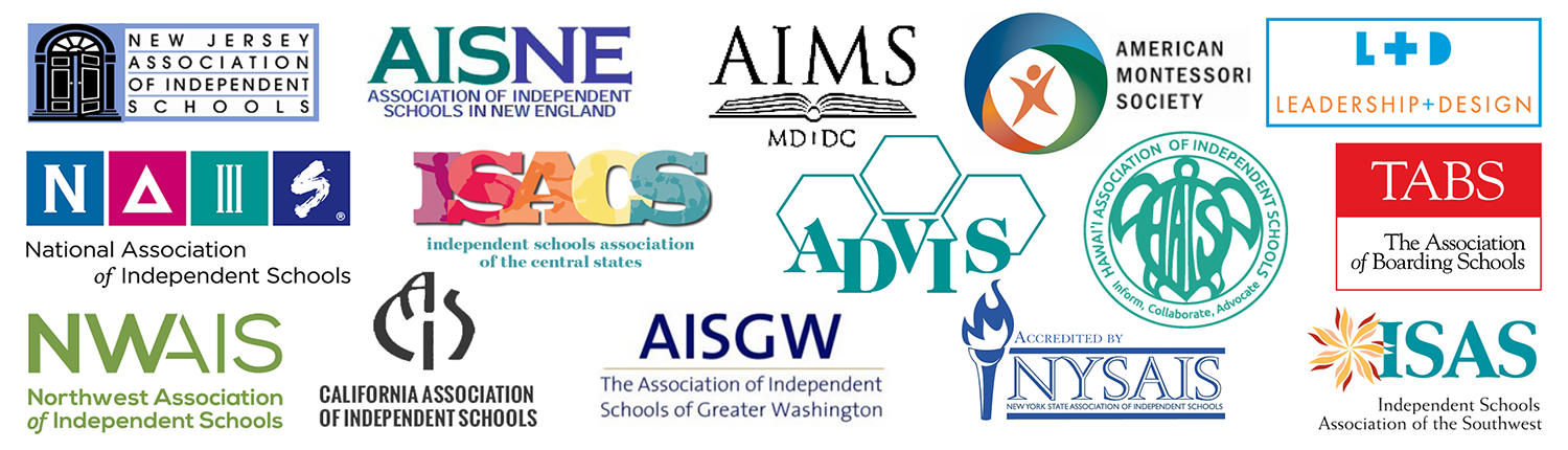 Collage of conference logos