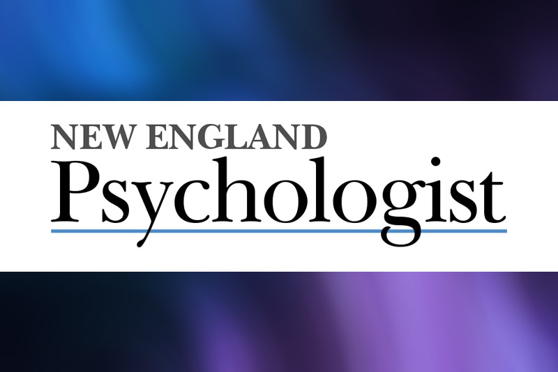 Jennifer's Interview with New England Psychologist, July 2015